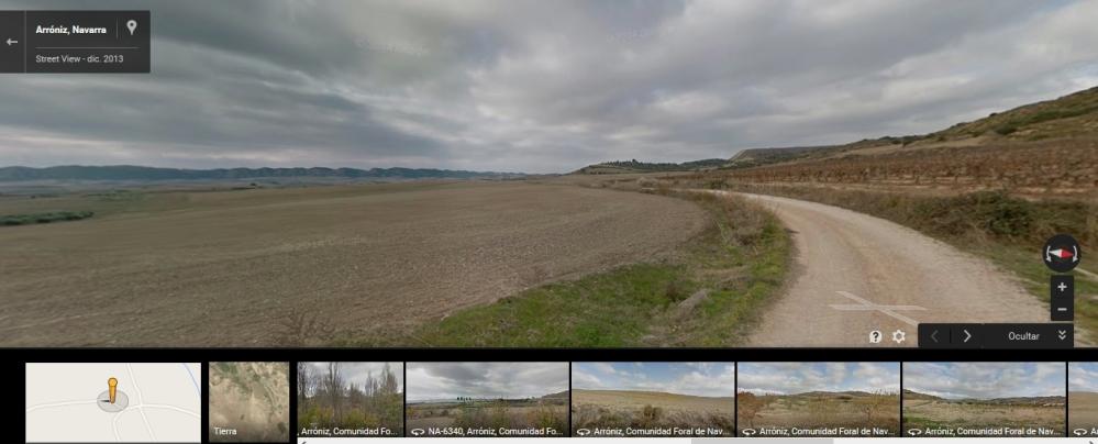 Paisaje de esa zona de Navarra