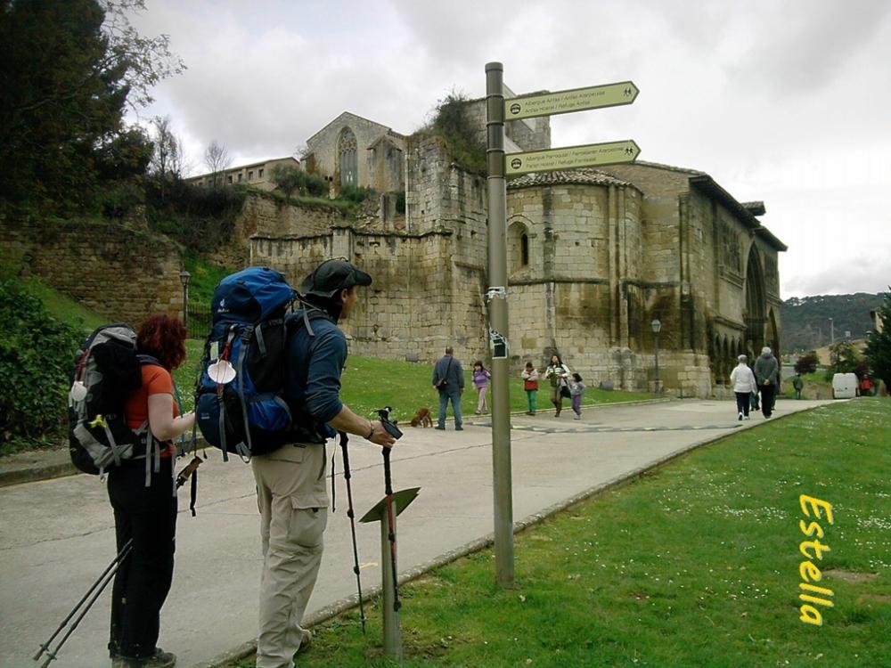 Peregrinos en Estella