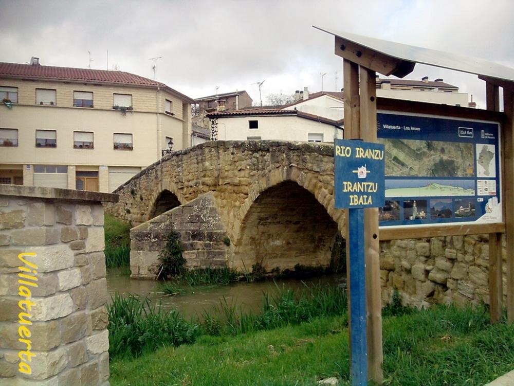 Puente sobre el Irantzu