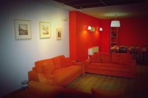 Salón naranja del Jackue