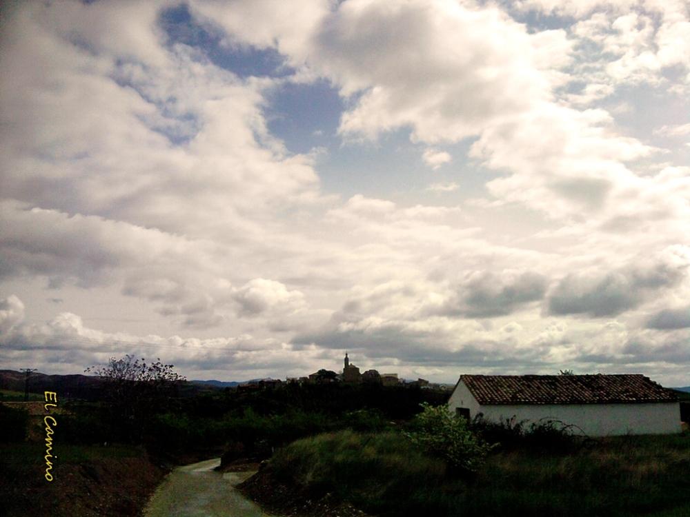 Saliendo de Torres del Río