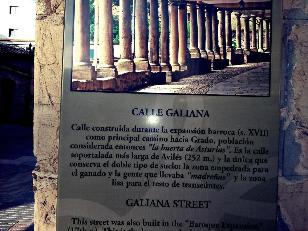 Indicaciones en Galiana