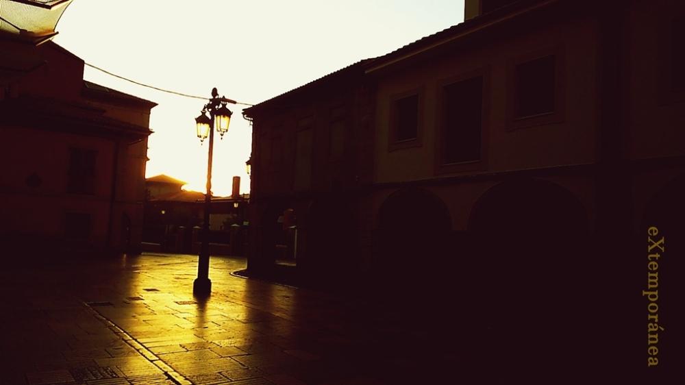 Farola en la calle de Galiana