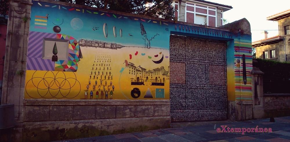 mural de la calle de Galian