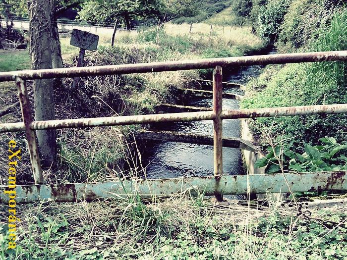1. la canalización del Narcea a la altura de Orbon