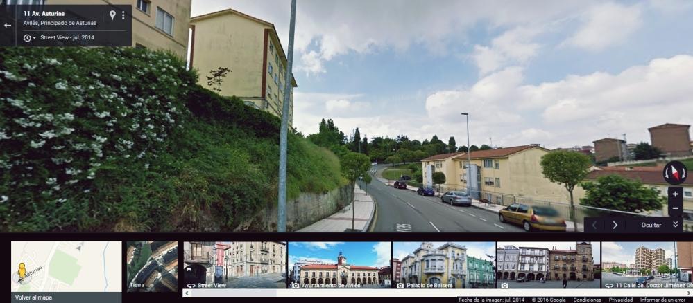 A la altura de la Avenida de Asturias