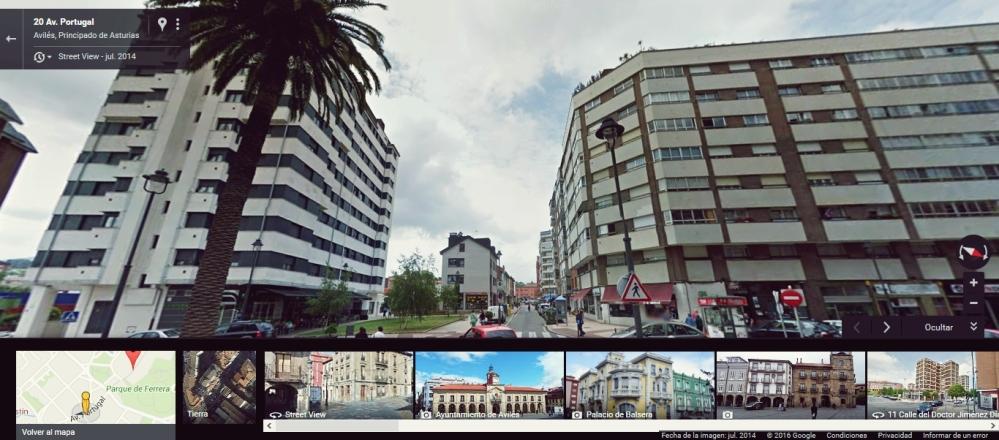 En la Avenida de Portugal