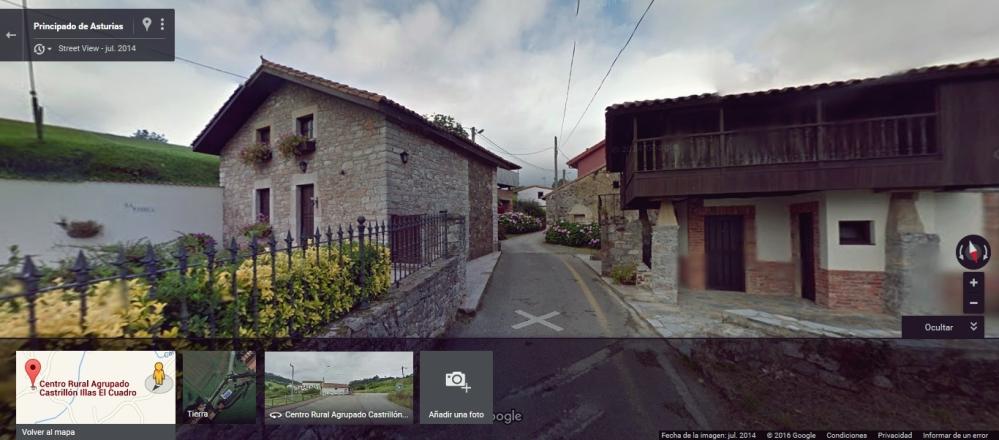 10. La aldea cerca de Tres Valles