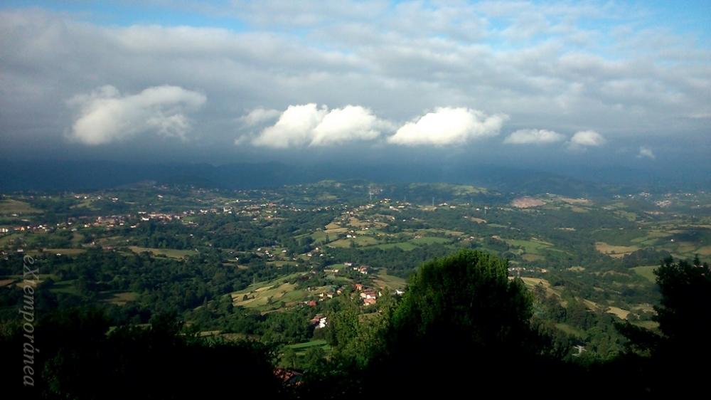 Las nubes que traían la lluvia
