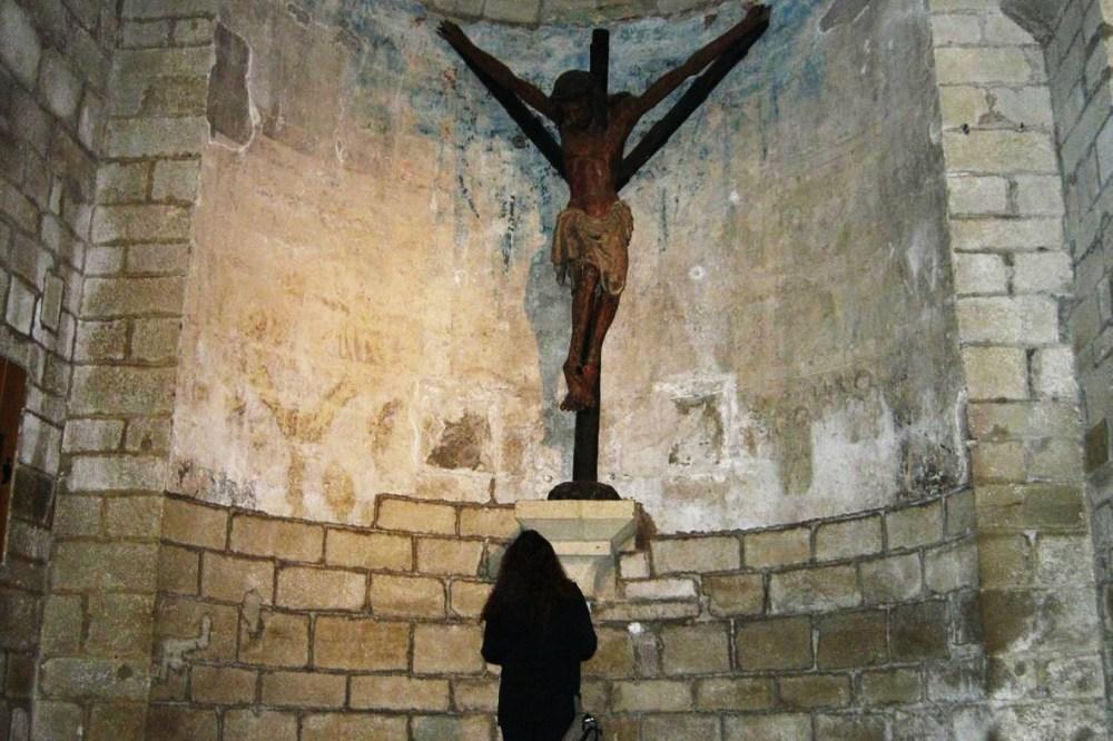 En Puente la Reina el Cristo de la Oca