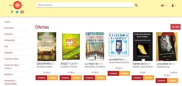 Argot librería de Castellón