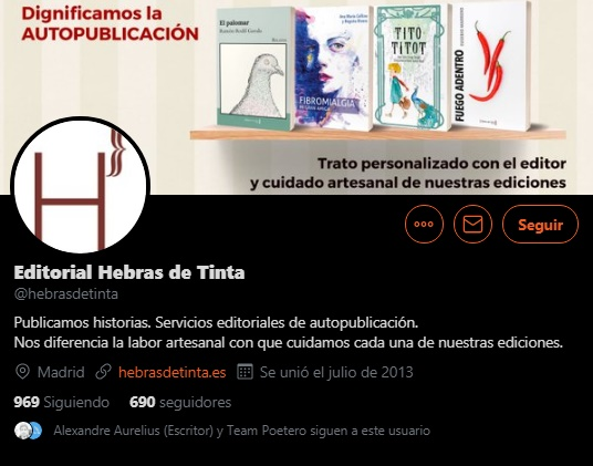 Editorial Hebras de Tinta