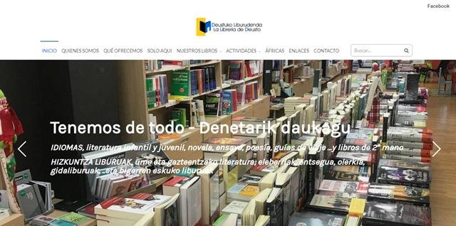 La librería de Deusto en Bilbao