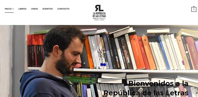 la república de las letras librería en Córdoba