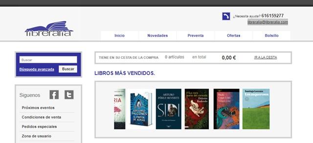Libreralia librería de Cuenca