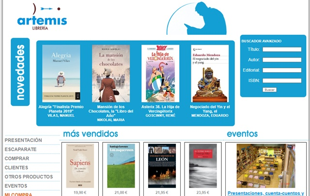 Librería Artemis de León