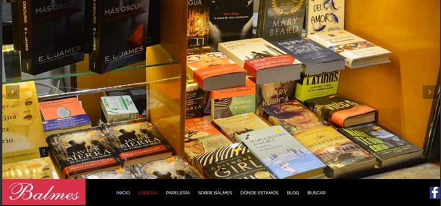 Librería Balmes en Teruel