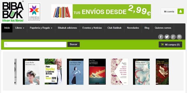 Librería Bibabuk en Almería