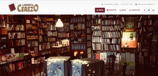 Librería Cerezo de Logroño