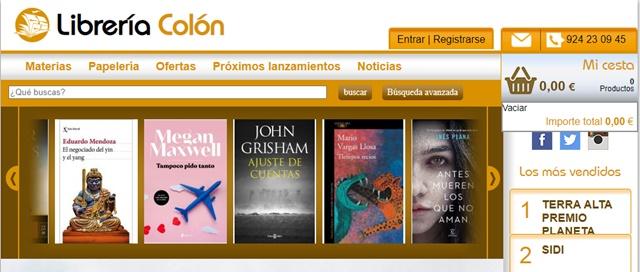 Librería Colón de Badajoz