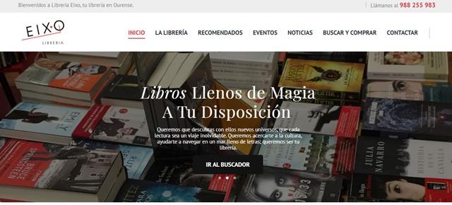 Librería Eixo en Orense