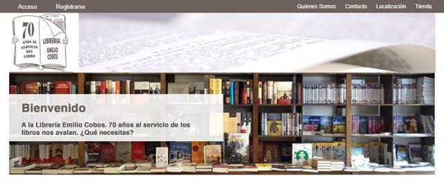 Librería Emilio Cobos de Guadalajara