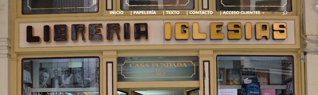 Librería Iglesias en Palencia
