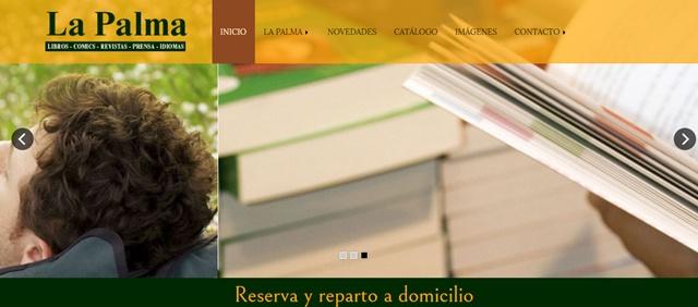 Librería La Palma en Oviedo