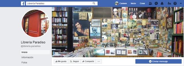 librería paradiso en Gijón Asturias