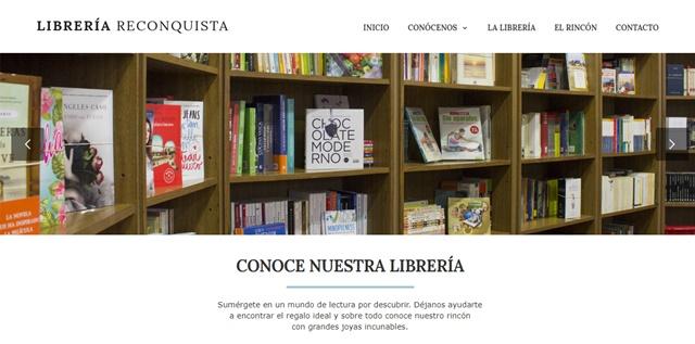 Librería Reconquista en Oviedo