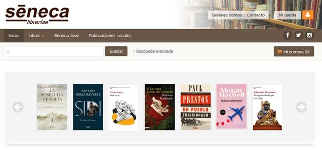 Librería Séneca en Elche Alicante