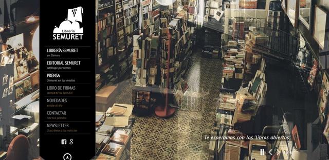 Librería Semuret en Zamora