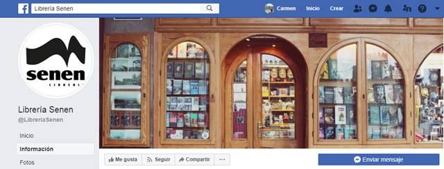 Librería Senen en Avila