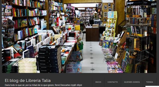 Librería Talia en Villafranca de los Barros Badajoz