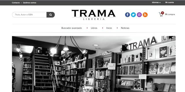librería Trama de Lugo