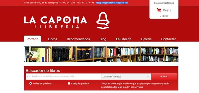 LLIBRERIA LA CAPONA en Tarragona