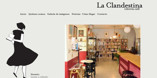 la clandestina librería en Cádiz