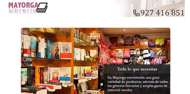 Librería Mayorga en Plasencia Cáceres