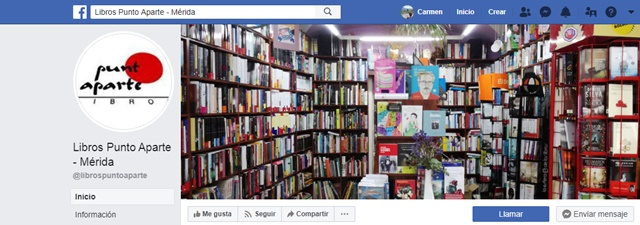 Libros Punto Aparte en Mérida