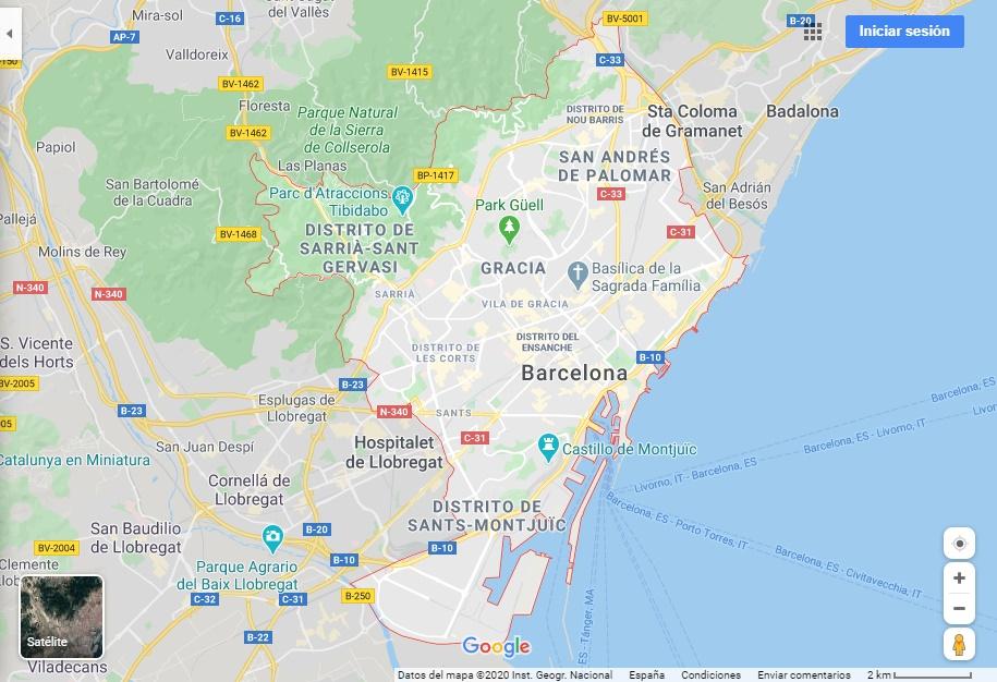 1. DE BARCELONA