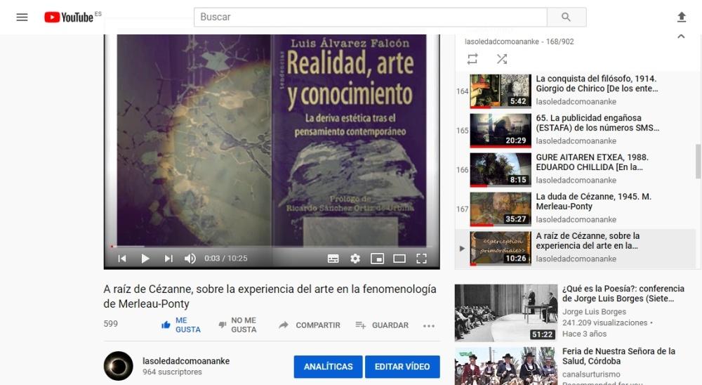 A raíz de Cézanne, sobre la experiencia del arte en la fenomenología de Merleau-Ponty
