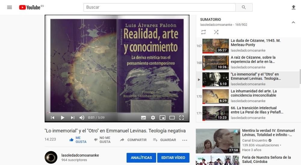 ''Lo inmemorial'' y el ''Otro'' en Emmanuel Levinas. Teología negativa