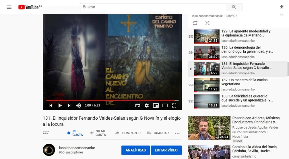 El inquisidor Fernando Valdes-Salas según G Novalín y el elogio a la locura