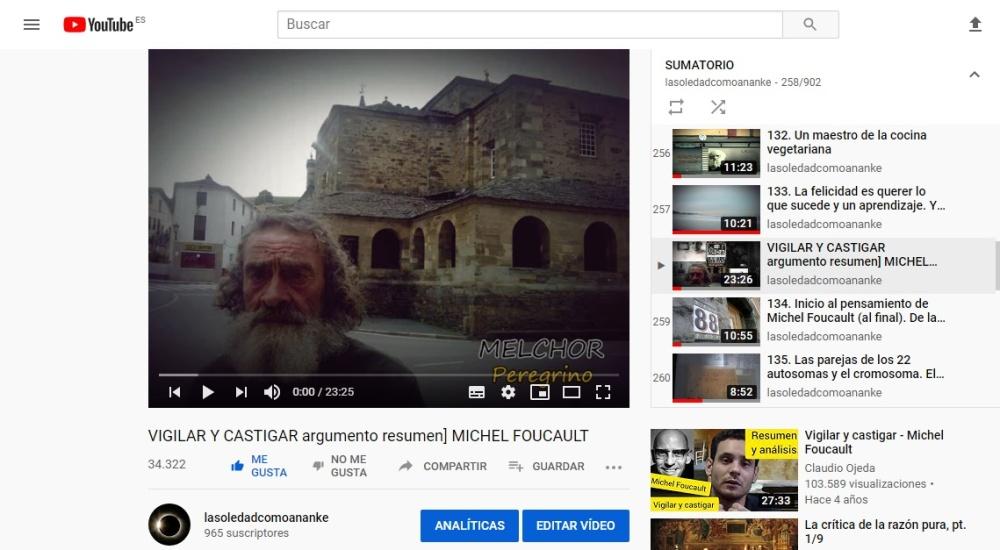 VIGILAR Y CASTIGAR argumento resumen] MICHEL FOUCAUL